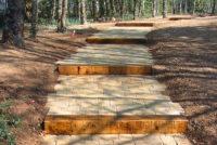 les aménagements espace vert aussi en forêt